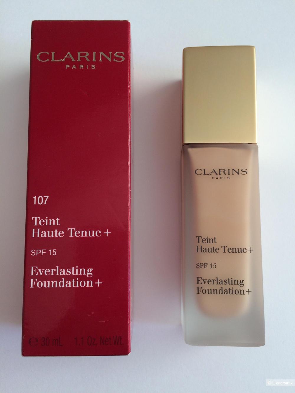 Тональный крем Clarins Teint Haute Tenue+ Тон 107