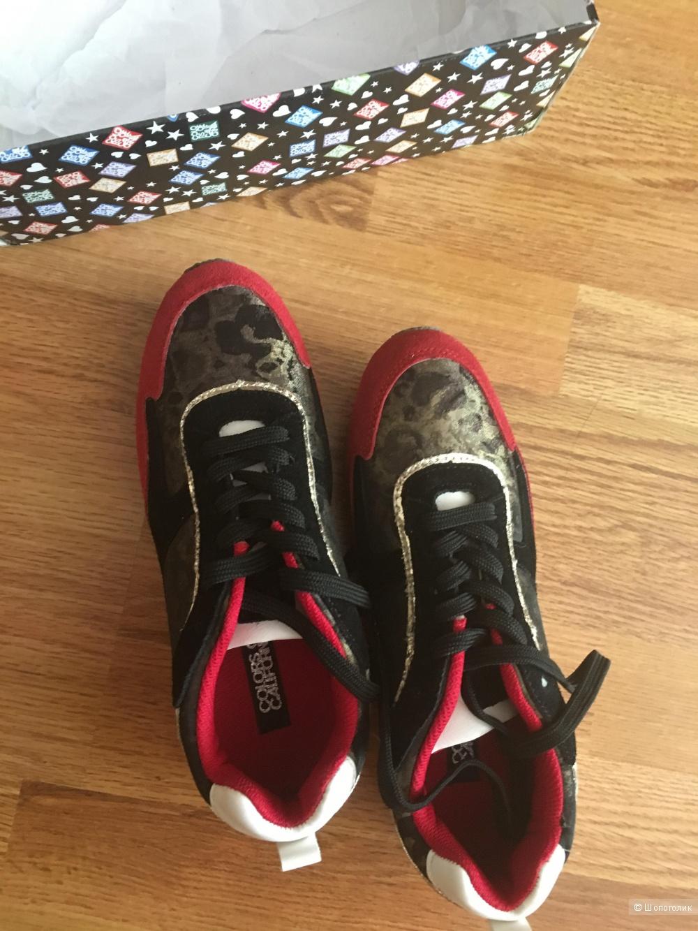 Новые женские кроссовки  с Yoox 39-40