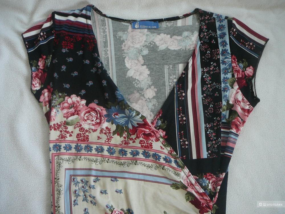 Летнее платье Fifilles de Paris h42-44 (Франция)