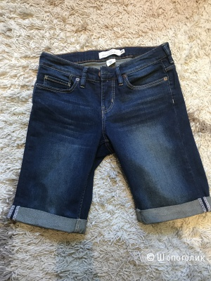 Новые темно-синие джинсовые шорты L.O.G.G. H&M размер 28