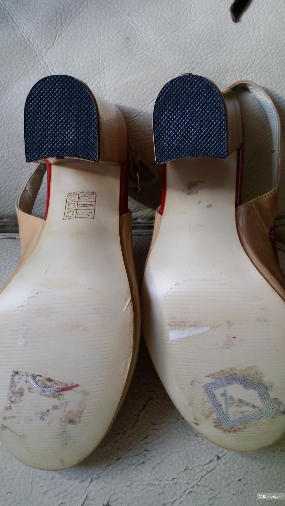 Ipekyol туфли летние , кожа 38 размер