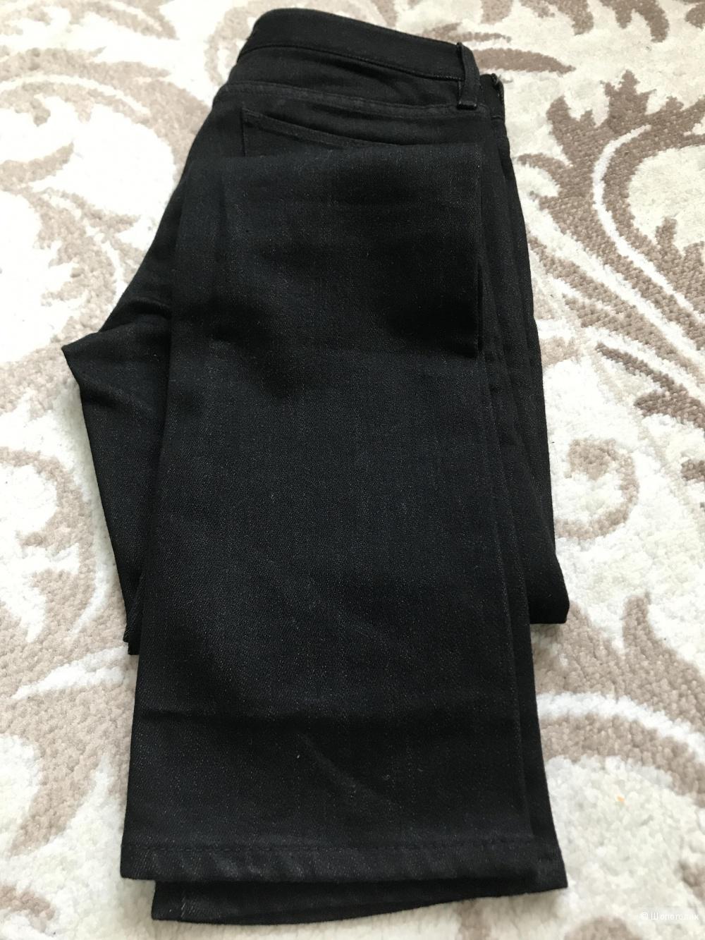 Джинсы черные UNIQLO, 24 размер