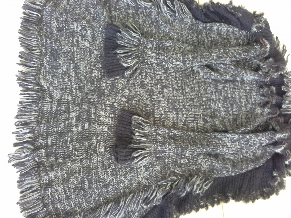 Трикотажное пальто, размер 40-42