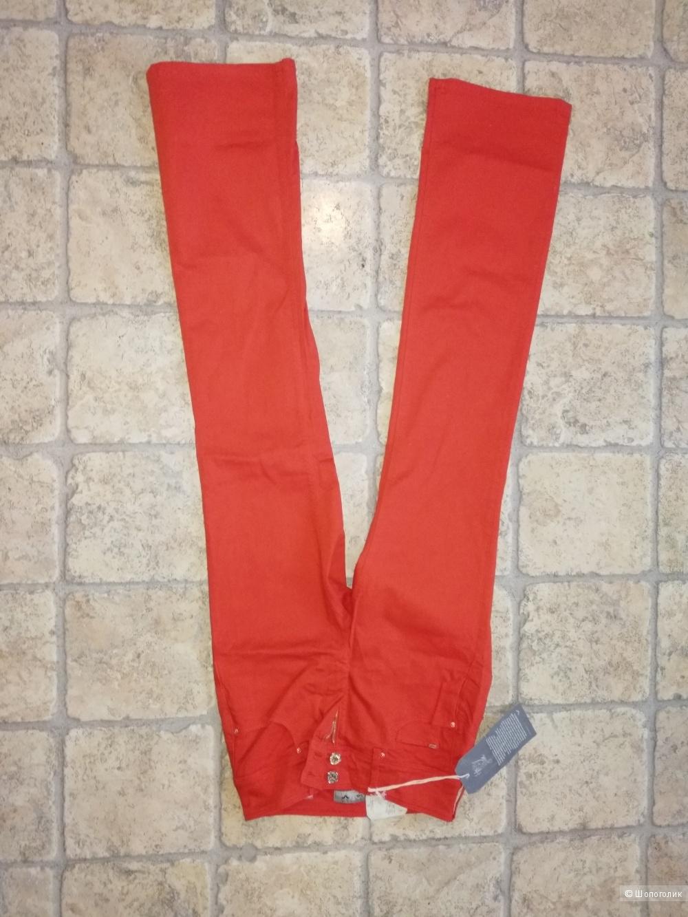Джинсы ярко - красные от Push-in Secret Bootcut, Salsa 26/32 - 40 размер