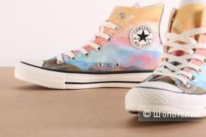 Converse Chuck Taylor® All Star® Sunset Hi-Solar Orange/Purple Dusk/ на стопу 24.5-25 см