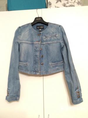 Джинсовый жакет-куртка Armani Jeans бу размер S