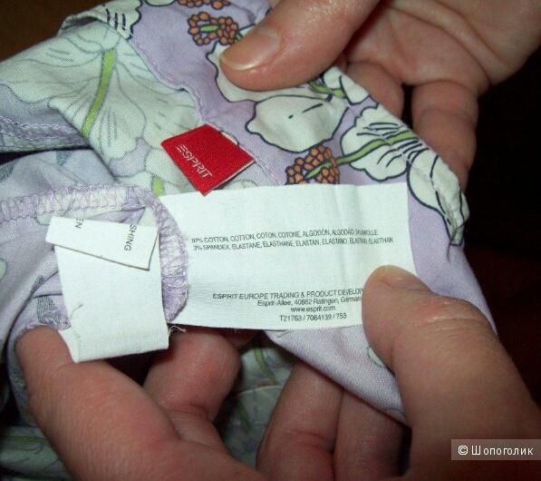 ESPRIT: хлопковый сарафан стрейч в размере 42 евро