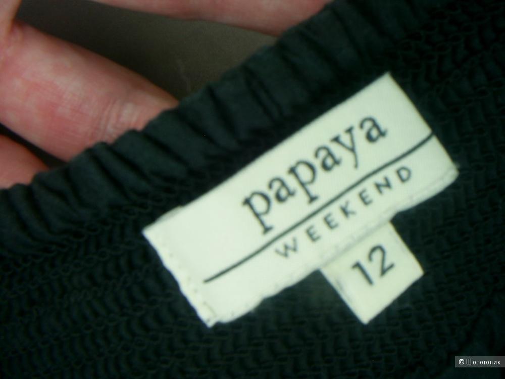 Юбка 100%-хлопок от Papaya р 46-48-50.