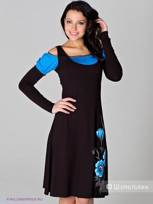Необычное платье 42 размера от Натальи Новиковой