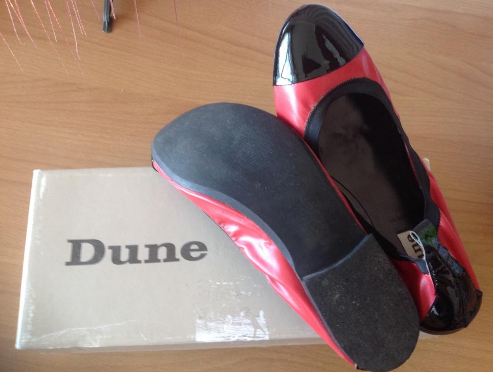 Балетки Dune. р-р 37. Натуральная кожа.