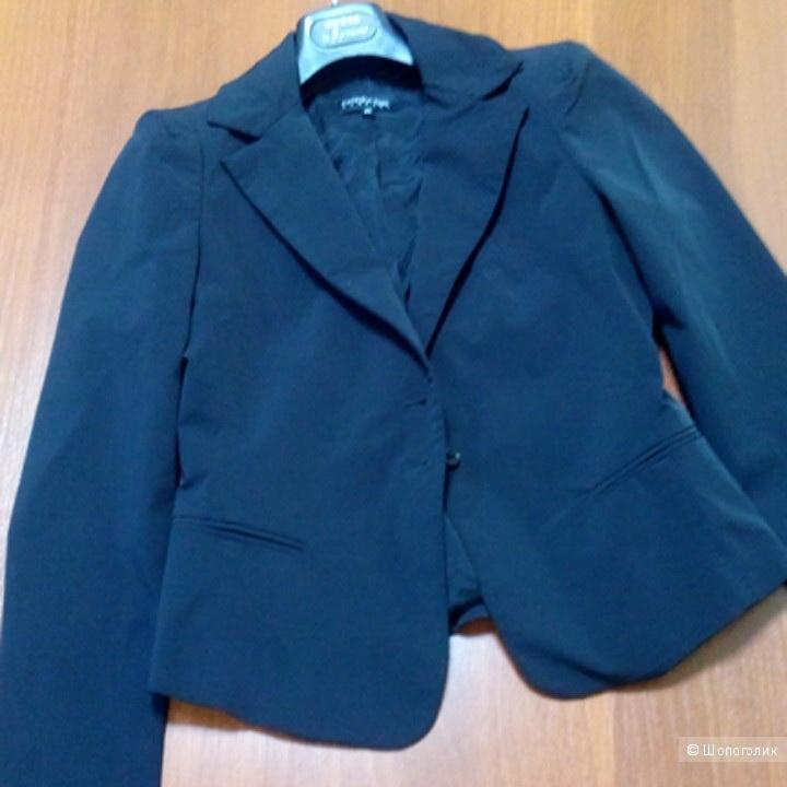 Пиджак черный PATRIZIA PEPE firenze размер 46