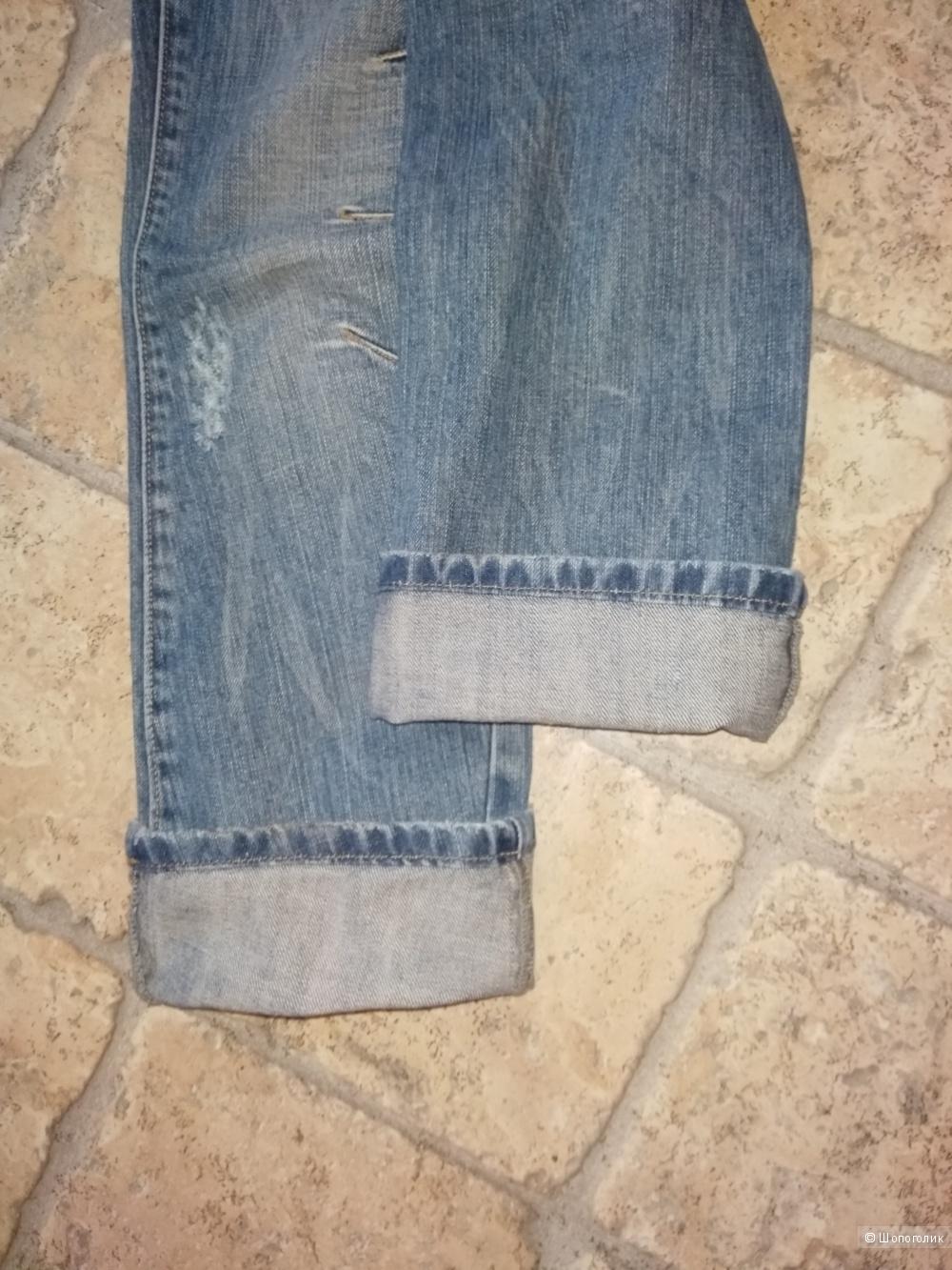 Очень крутые джинсы Stress7, 26 размера.