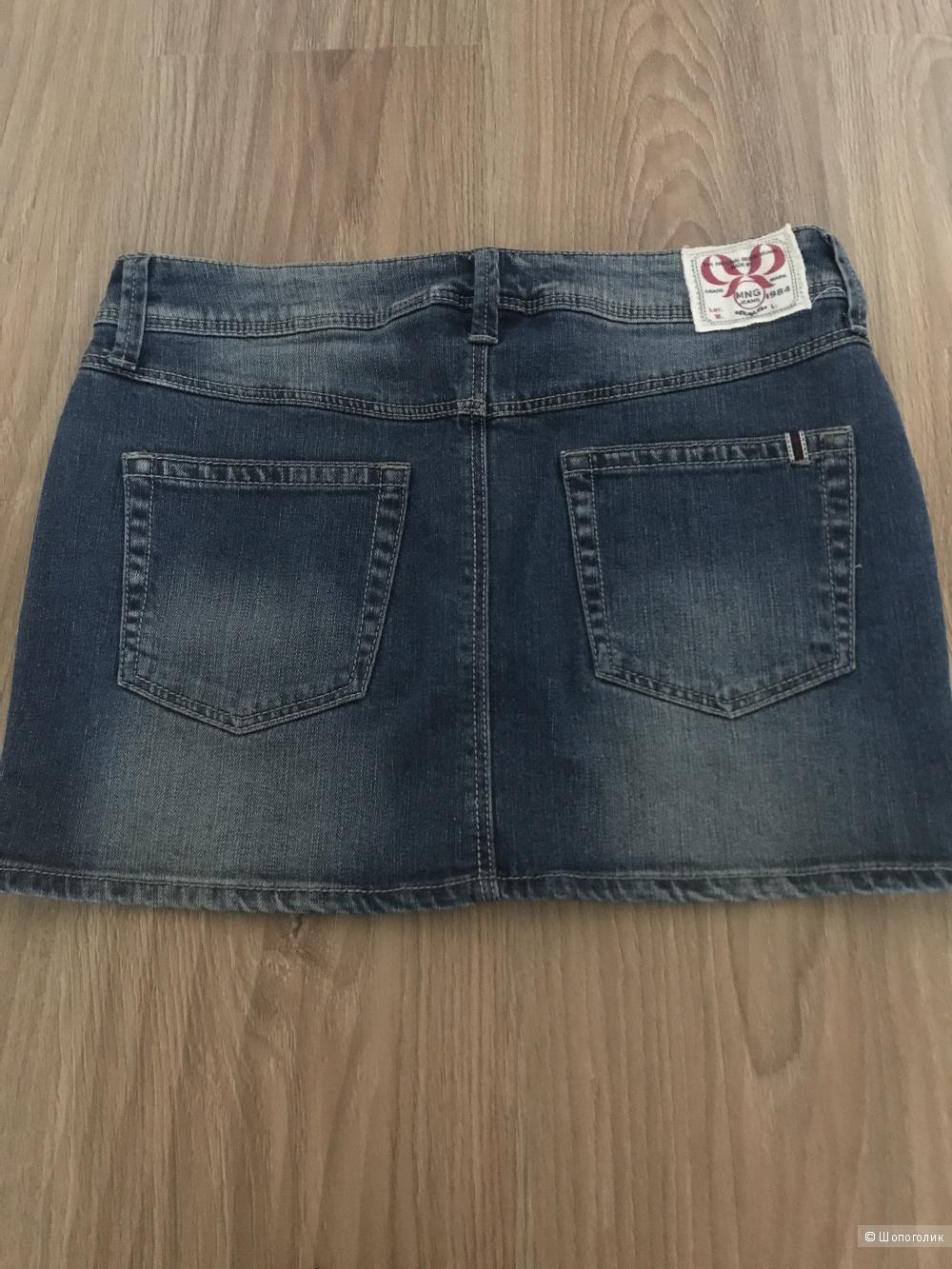 Юбка джинсовая MANGO, размер XS
