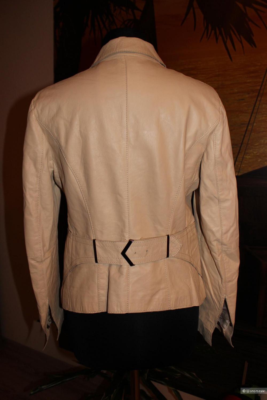 Кожаный пиджак PENNYBLACK, размер 42-44