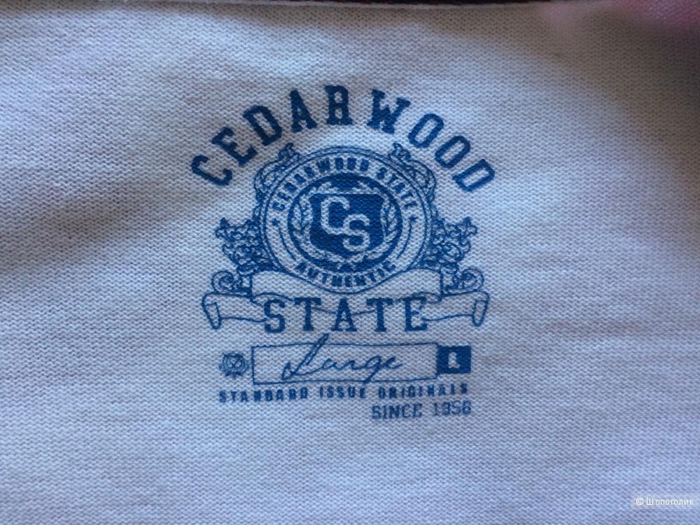 Новый мужской кардиган английского бренда Cedar Wood State (размер L)