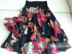 Стильная юбка , Италия размер 40-44