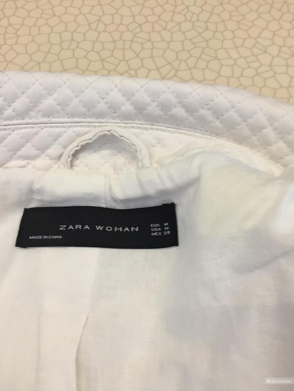 Куртка-косуха из кожзаменителя Zara