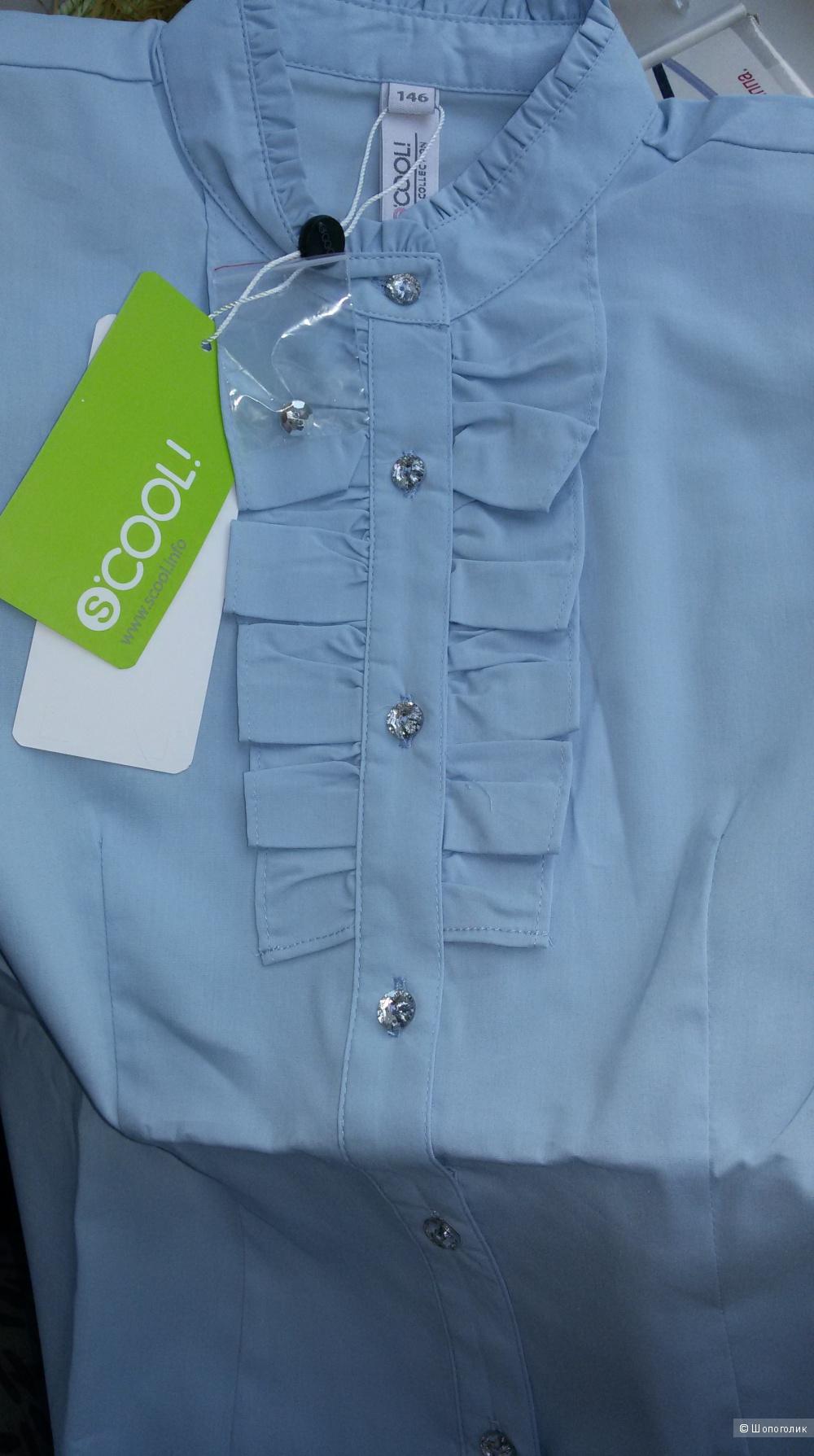 Блузка для девочки S'cool р.146 новая