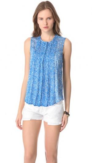 Топ блузка Diane Furstenberg US6 / S-M шелк