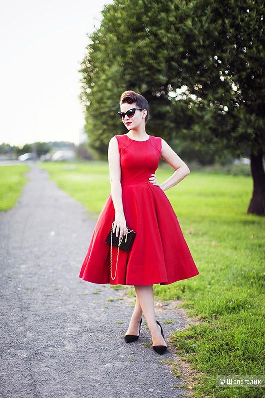 Лазурное платье Asos, р-р 42-44