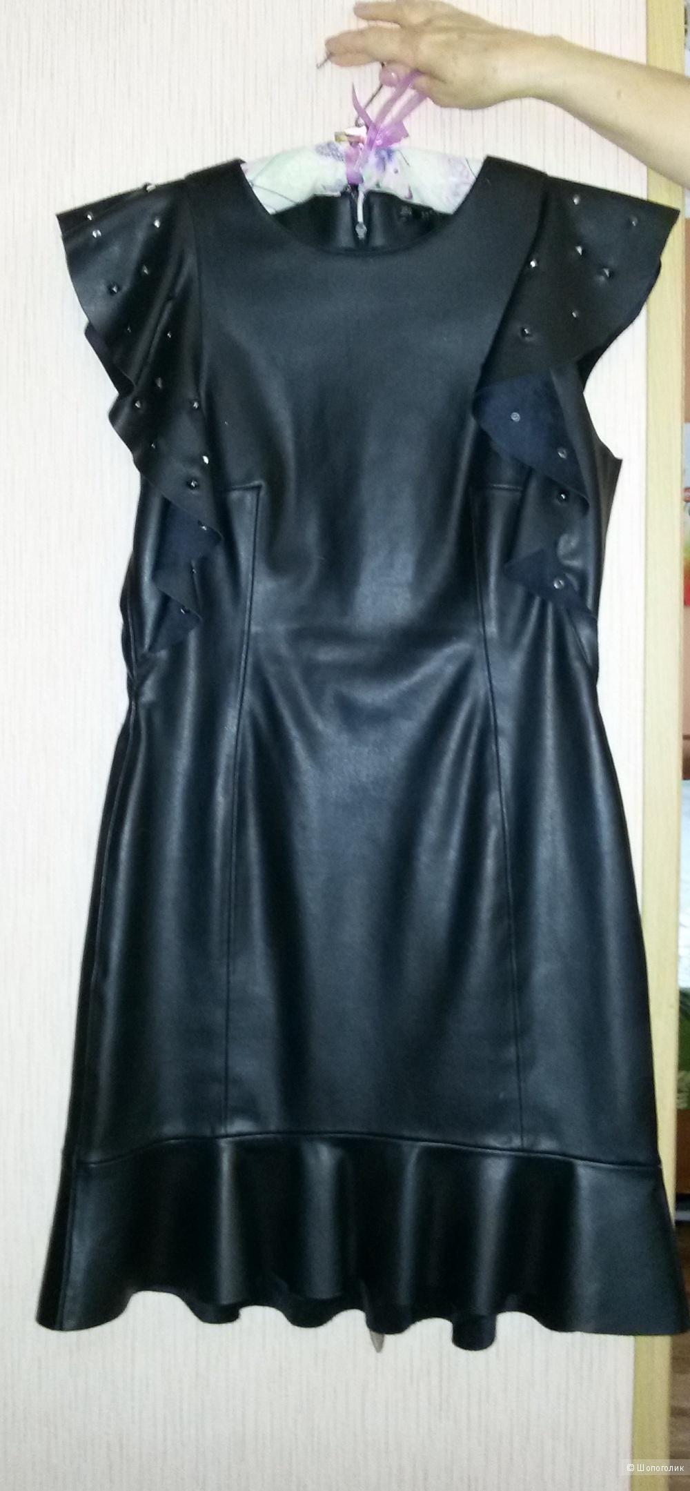 Стильное платье ZARA р. М (46)