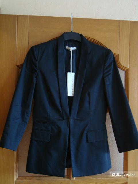 Шикарный, приталенный пиджак STEFANEL с рукавами три четверти