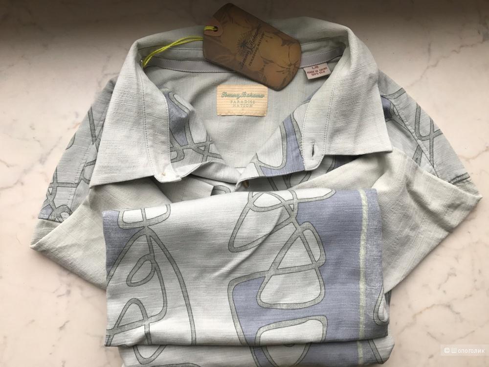 Летняя рубашка Tommy Bahama 100% шёлк