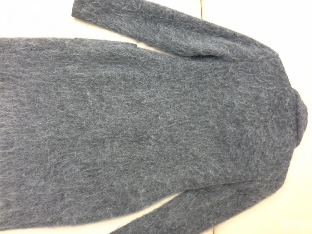 Пальто, шерсть АЛЬПАКА,  размер XS