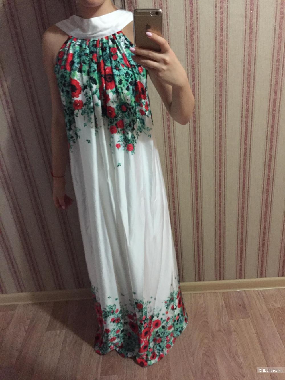 Платье в пол 42-48