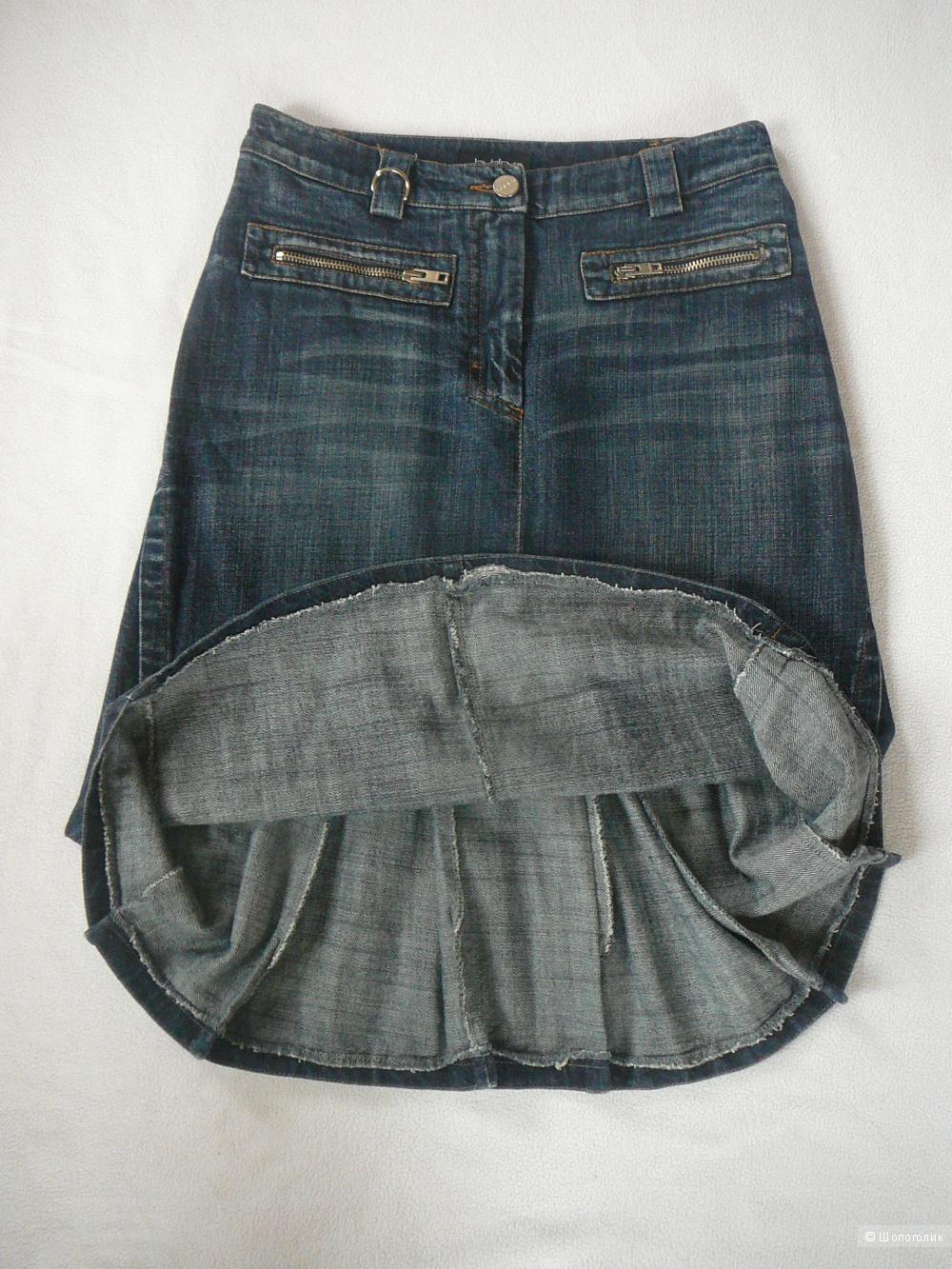 Джинсовая до колен юбка BYBLOS р44 (оригинал)