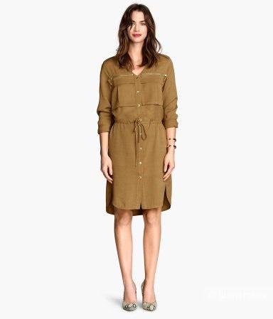 Новое платье- рубашка 100% лиоцелл на 44-46 рус