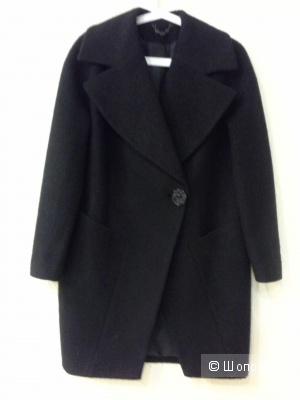 Стильное пальто,  шерсть,  Италия,  размер 40-44