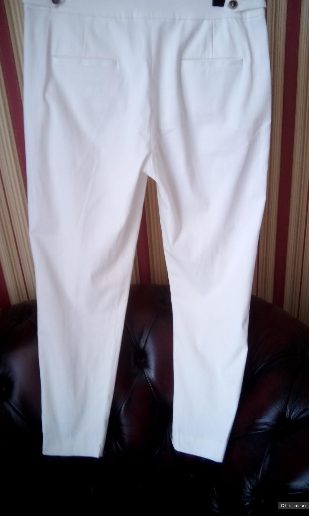Стильные белые брючки French Connection uk 10