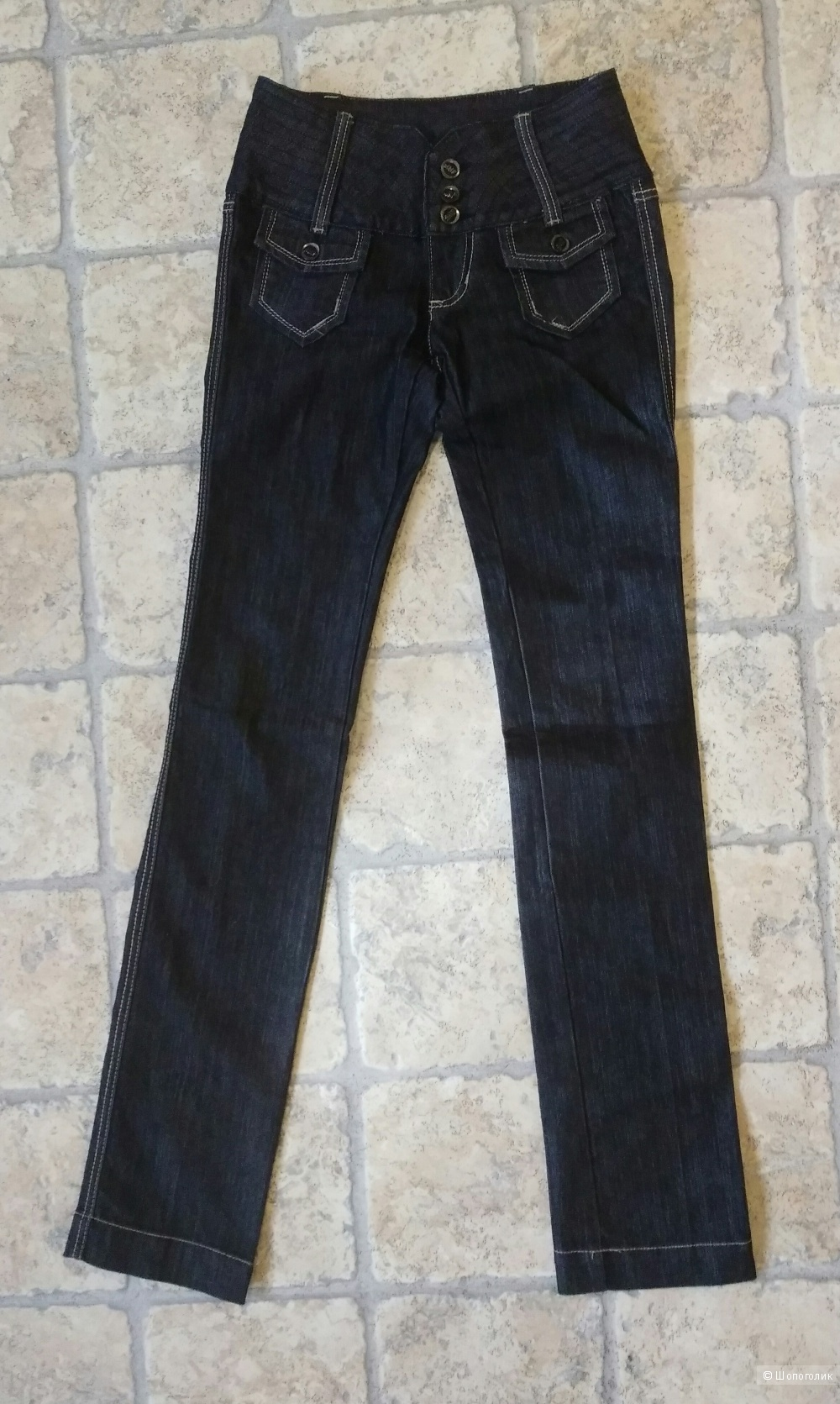 Замечательные брючки - джинсы Madness National 26 размер.