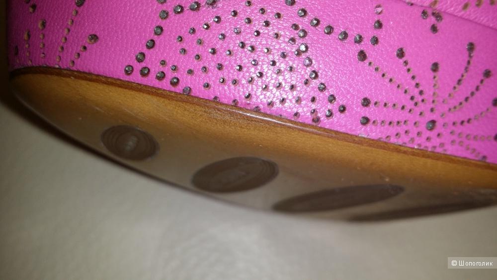 Loriblu туфли цвета фуксия, оригинал. 39 размер