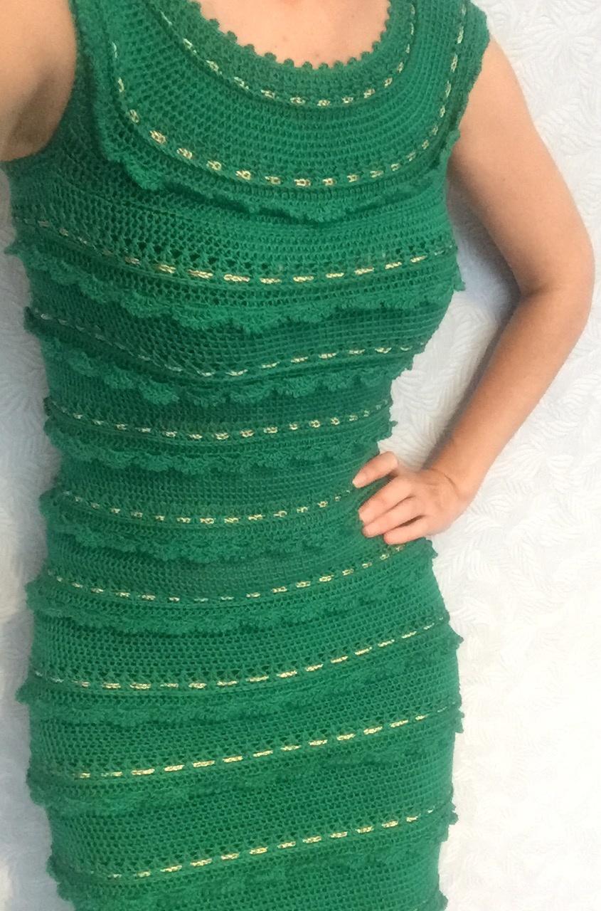 Шелковое платье по мотивам В.Монтро