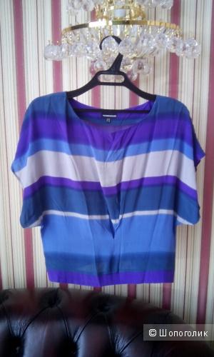 Красивая блузка из нежного натурального шелка Warehouse UK10