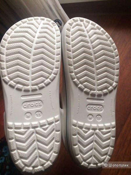 Новые белые мужские Crocs / р.44