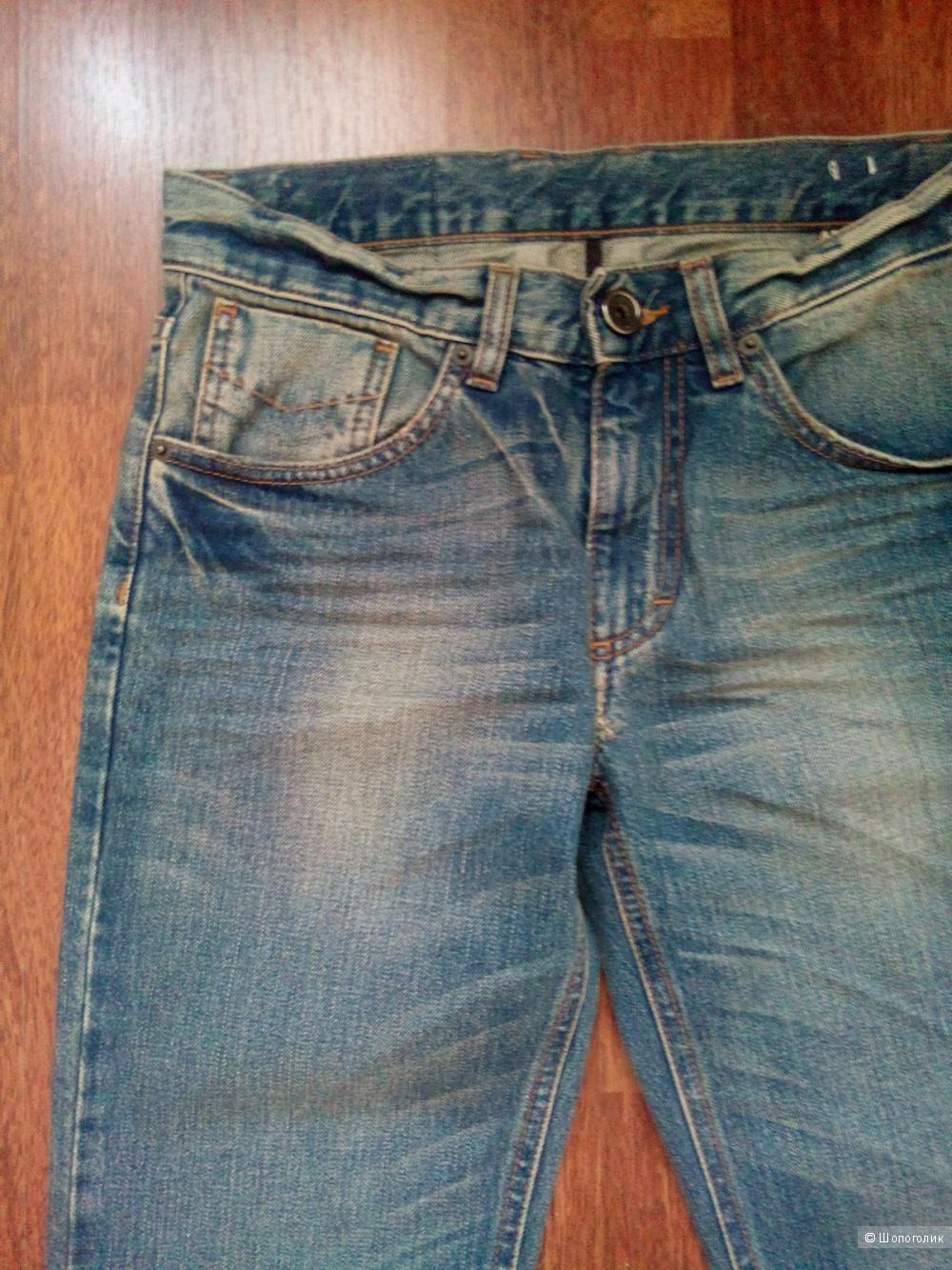 Bikkembergs джинсы мужские(можно как бойфренд )размер 28