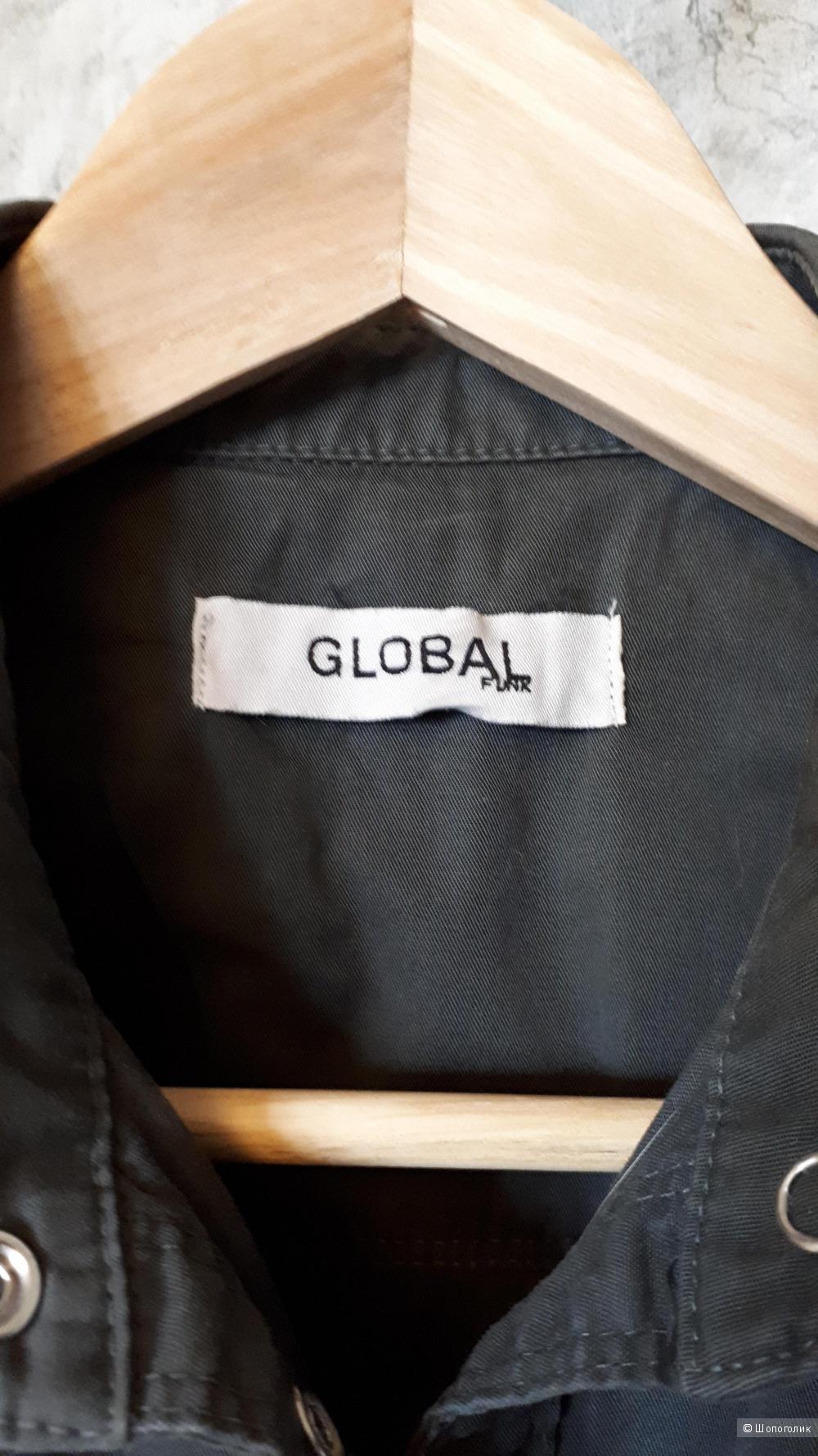 Жилетка из хлопка на кнопках Global Funk