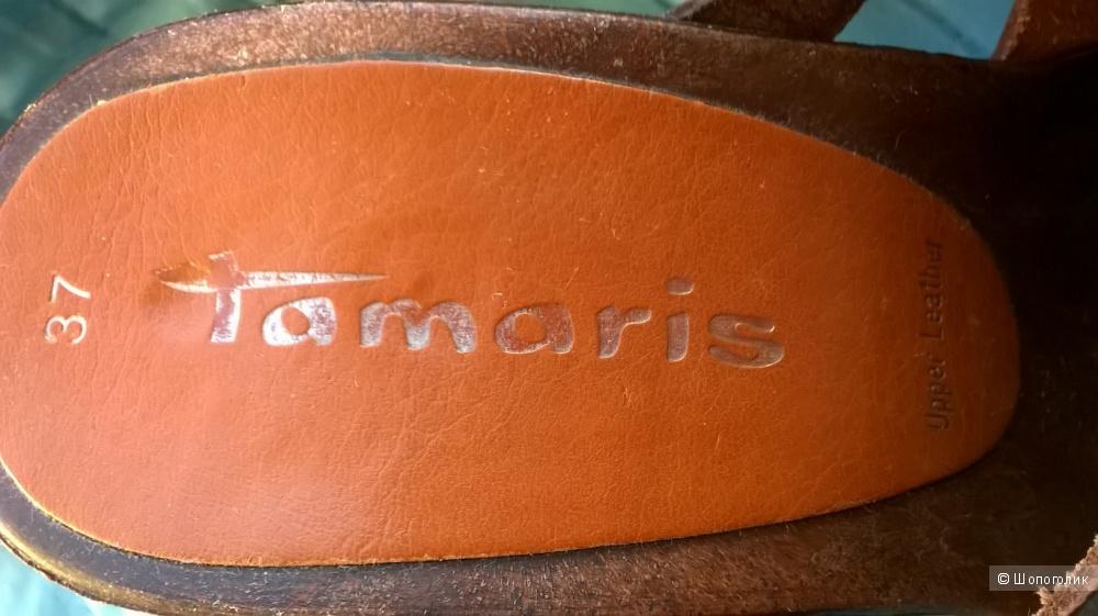 Сабо кожа Tamaris 37 размер