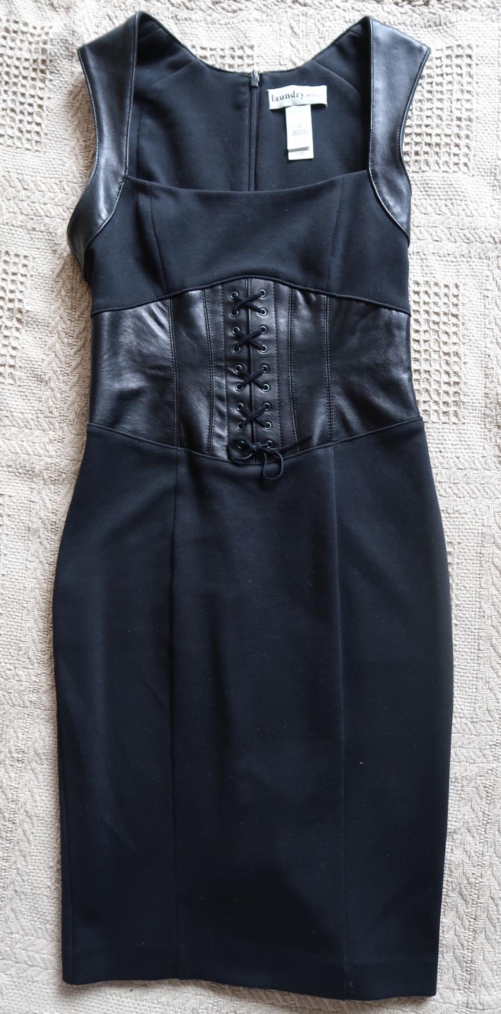 Платье с корсетным поясом на российский 40-42 размер