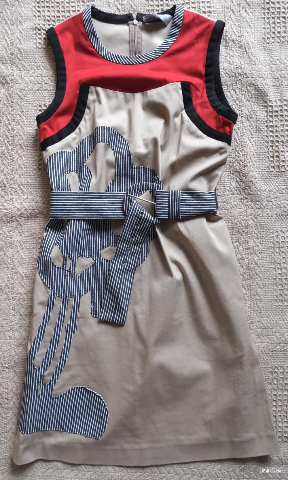 Хлопковое платье на российский 40-42 размер