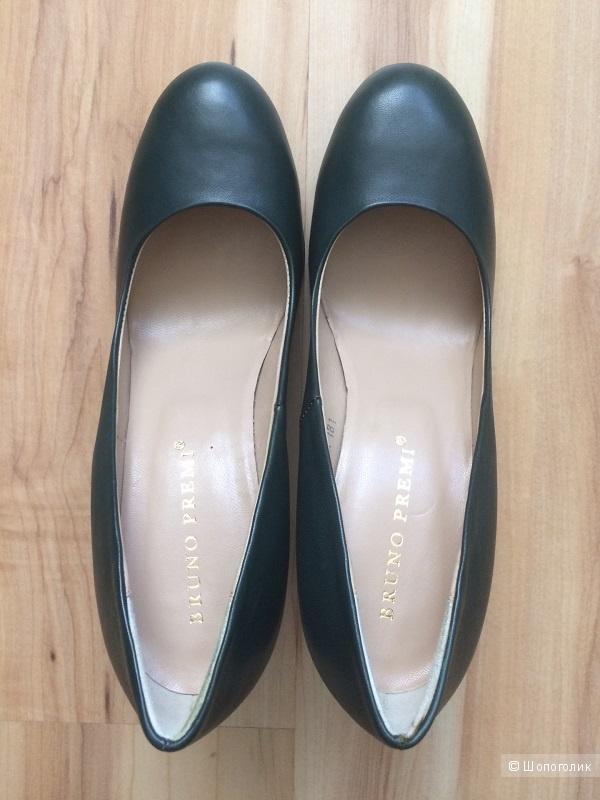 Кожаные туфли Bruno Premi размер 39-39,5