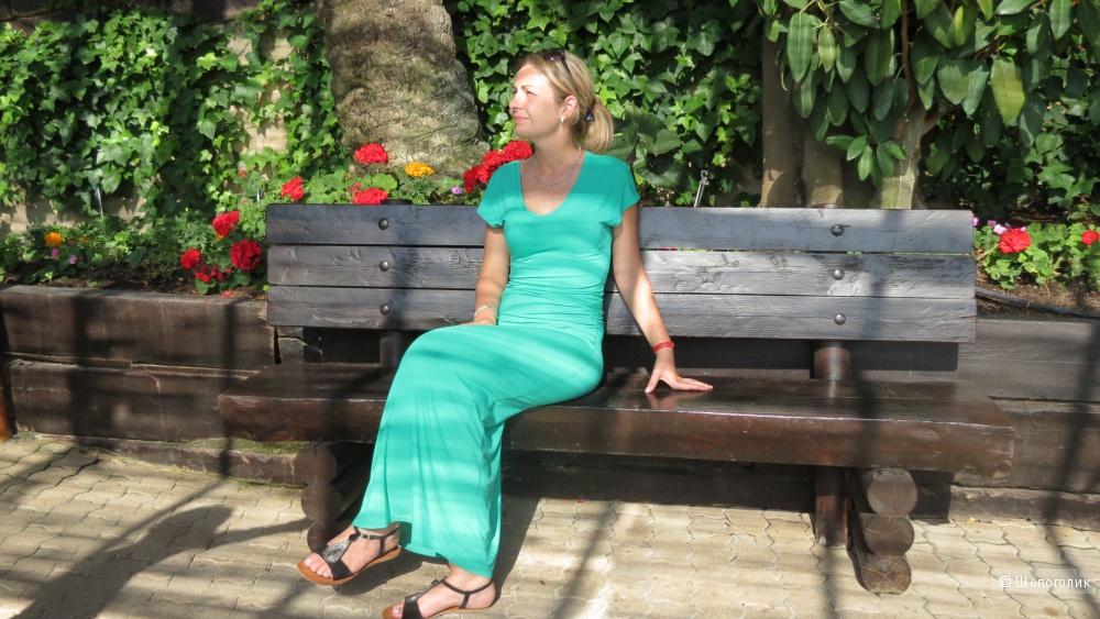 Платье длинное трикотаж 42-44-46