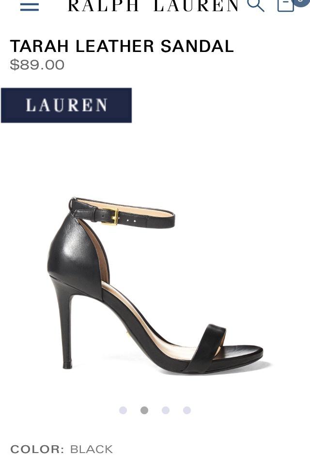 Босоножки Ralph Lauren 36 размер