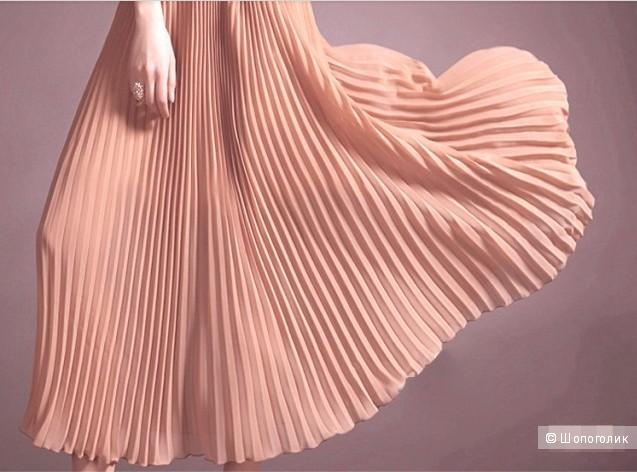 Длинная юбка-плиссе! Размер one size.