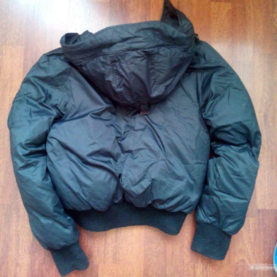 Пуховик бомбер Calvin Кlain jeans размер S, российский 46-48