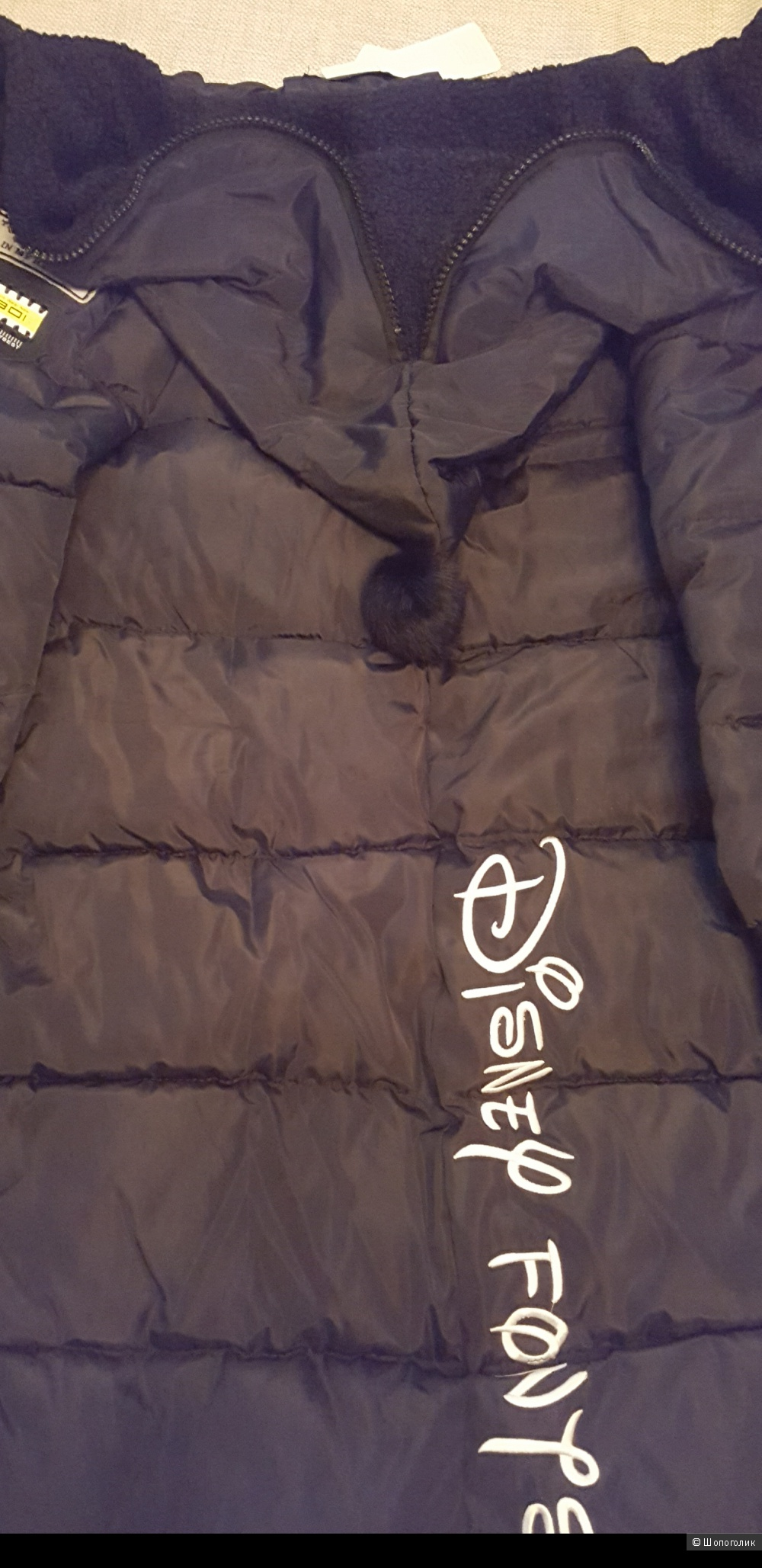 Оригинальное зимнее пальто 42-44 размера