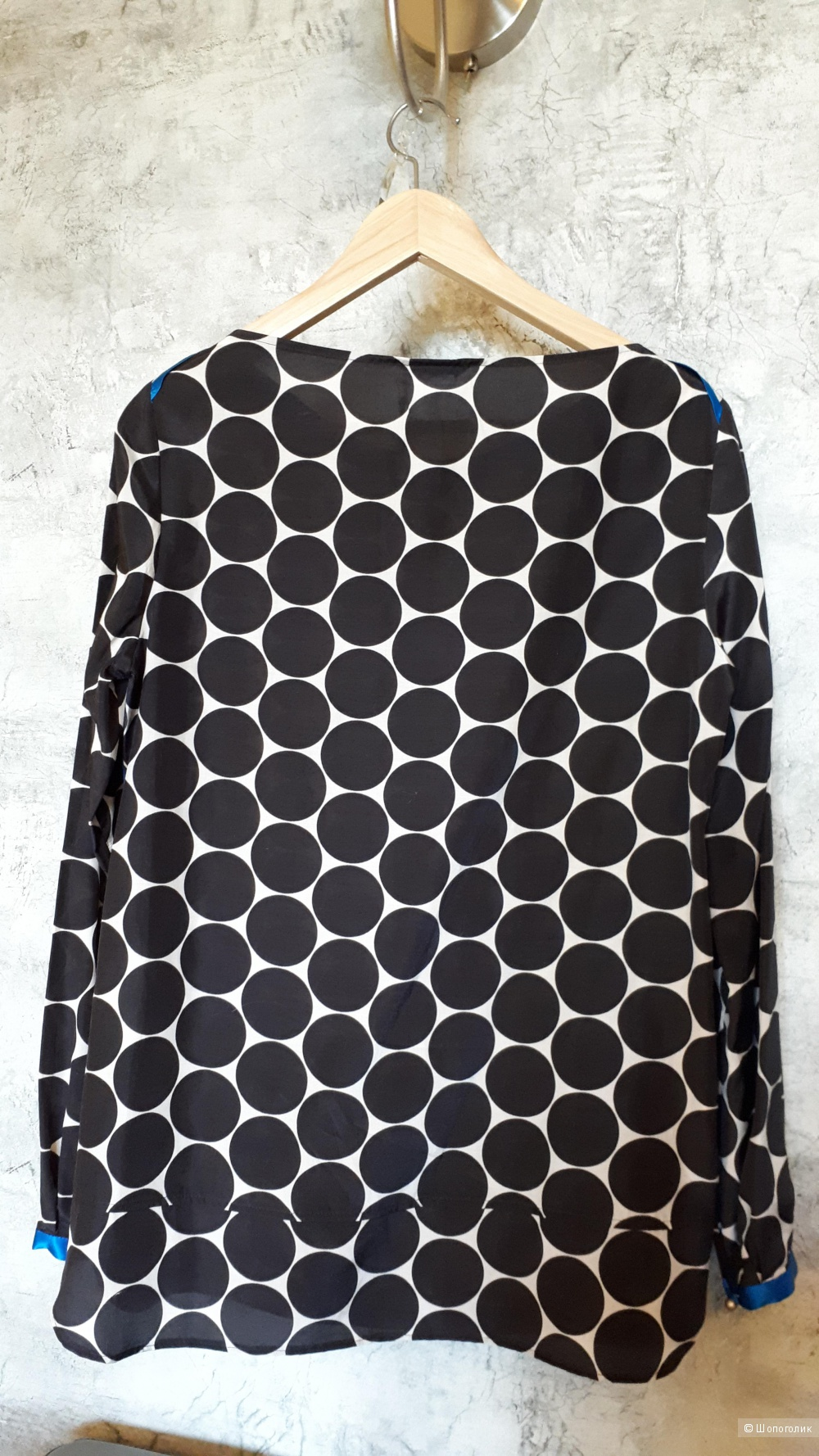 Шелковая блузка Cinque